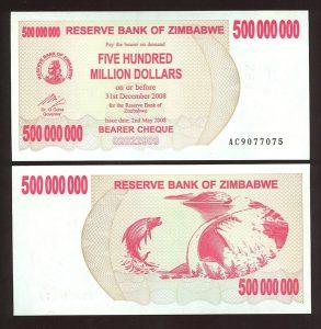 500 million zim